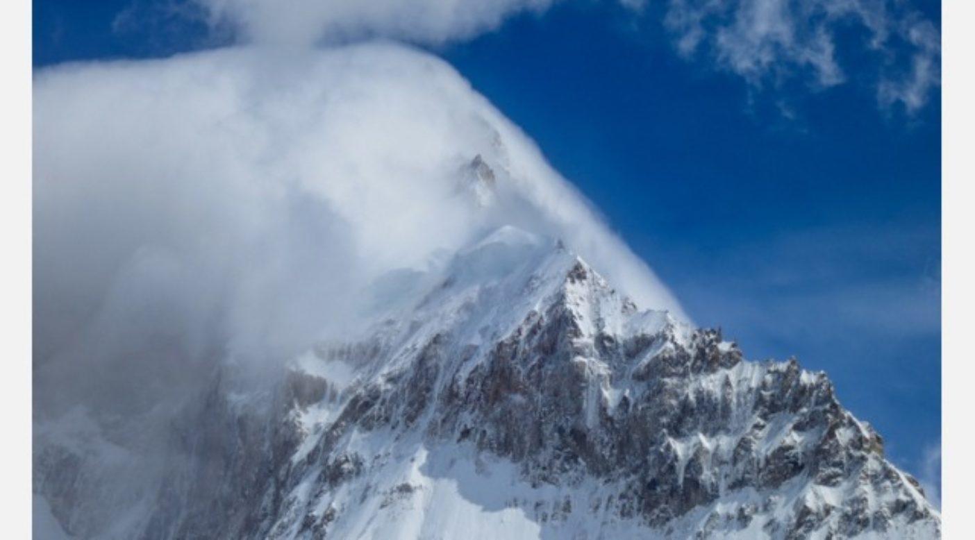 セロ・サン・ロレンゾの主峰。右の稜線がおおまかにサウス・アフリカン・ルートだ。Photo: Colin Haley