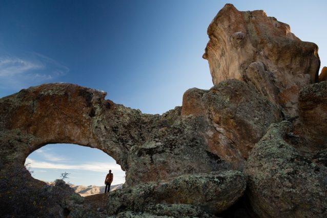 グレート・ベースンの歴史の窓を覗く。Photo:Tyler Roemer