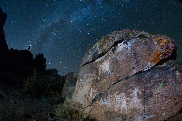 マウント・アイリッシュ考古地区は昼夜問わず見事だ。Photo:Tyler Roemer