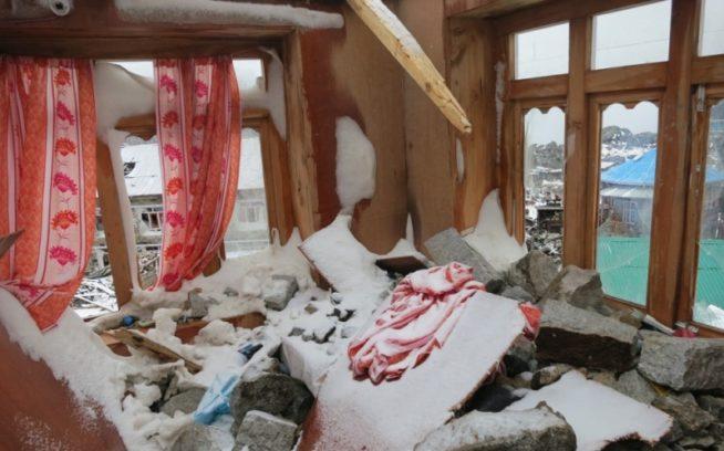 エムリックと僕が宿にしていたグアルブーのロッジの部屋。地震の15分前にうたた寝から目を覚ましていたのは幸いだった。写真:コリン・ヘイリー