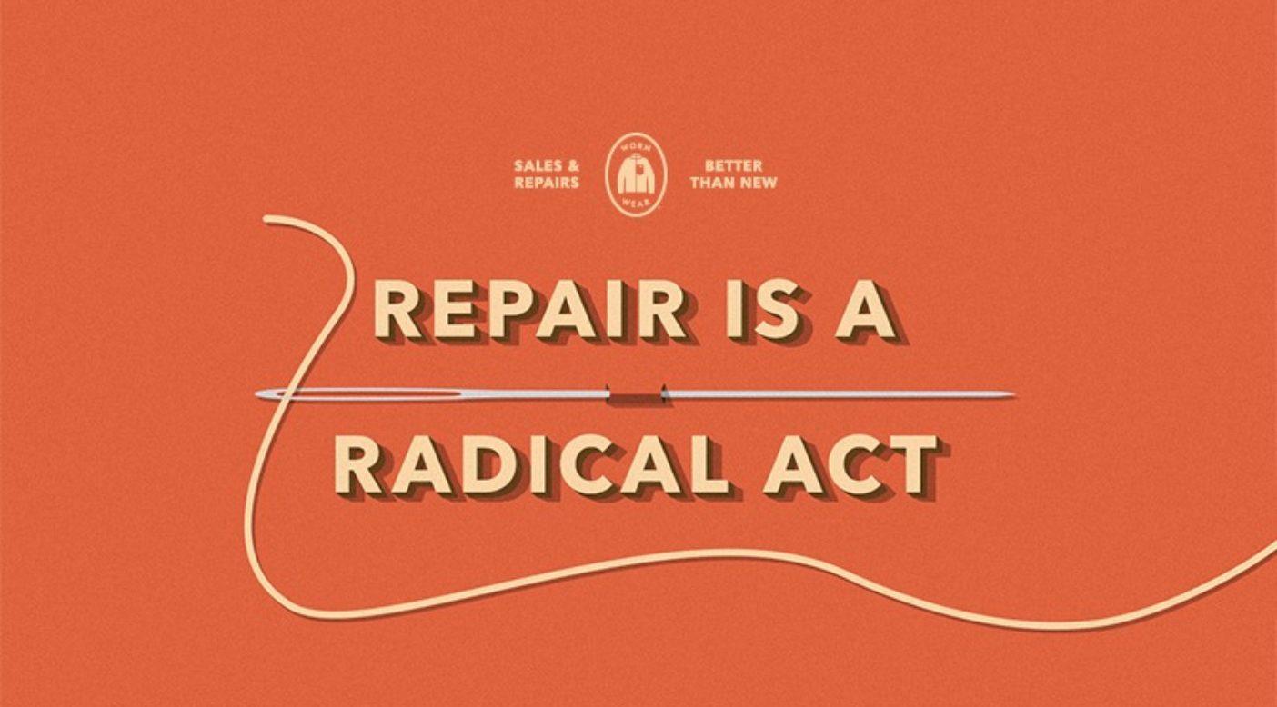 修理は急進的な行為