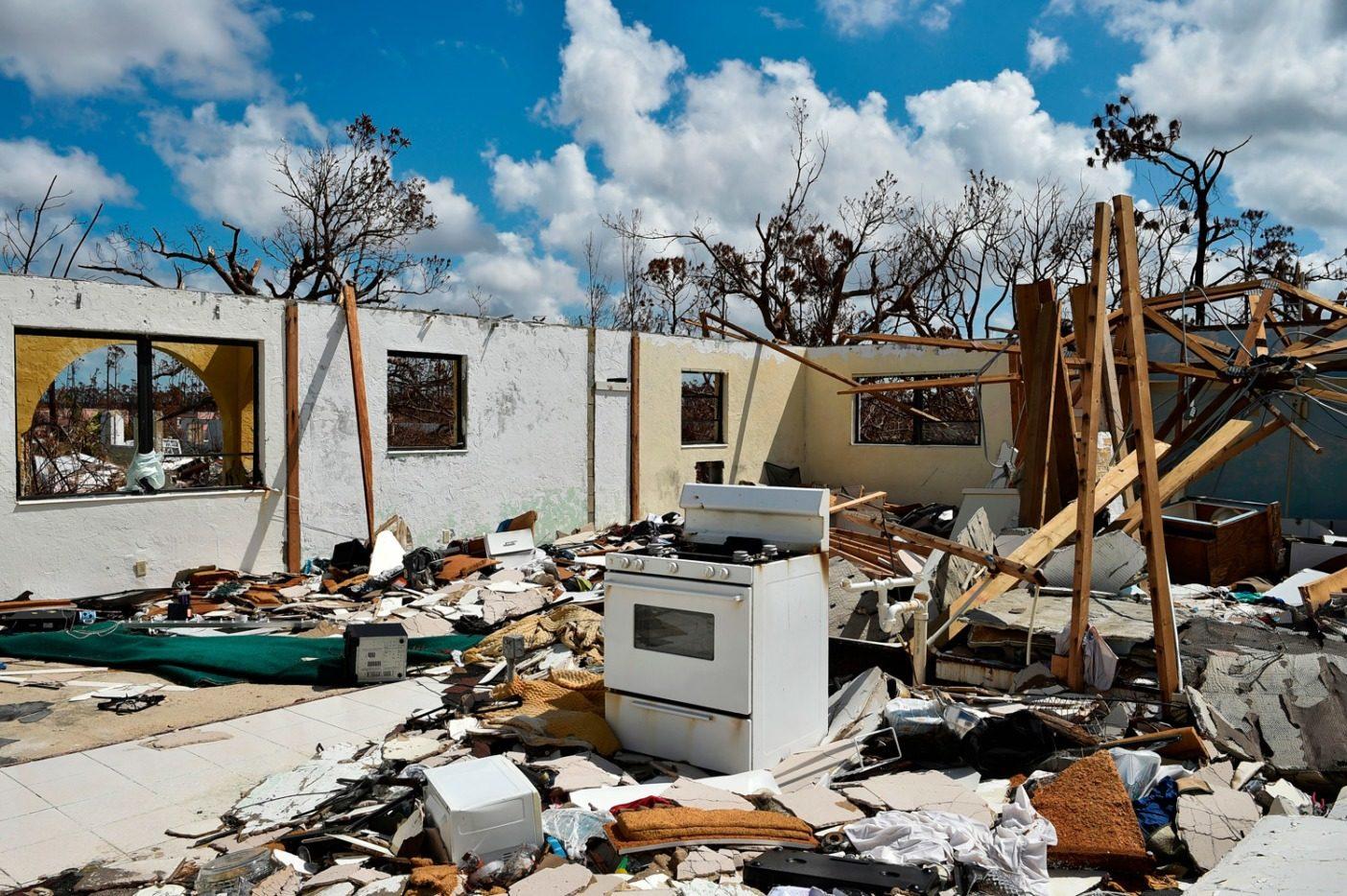 心の居場所は我が家なりというが、ハリケーン・ドリアンは心を砕かせた出来事だった。気候変動がより多くのハリケーンを招くというのは語弊があるが、気候変動によりこれらの嵐がより激しく、より致死的なものになる、ということについては概ね意見が一致する。Photo: Leila Macor/AFP/Getty Images